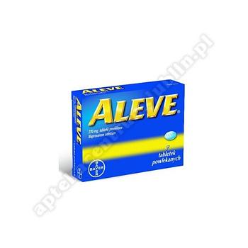 Aleve 0,22 g 12 tabletek powlekane