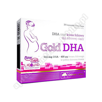 OLIMP Gold DHA kaps. 30 kaps. (blistry)-d.w.2020.08.30-1 op