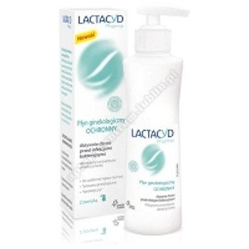 LACTACYD PHARMA OCHRONNY Płyn ginekologicz 250ml+chusteczki do higieny intymnej gratis