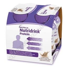 Nutridrink Protein o sma. mokka płyn 4x125ml