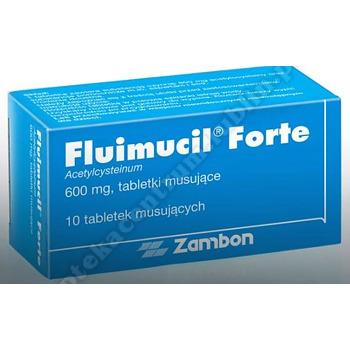 Fluimucil tabletki musujące 600 mg 10 szt.