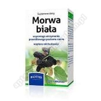 Morwa biała BIOTTER tabl.powl. 0,12g 180tabl.