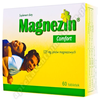 Magnezin Comfort tabletki 60 tabletek