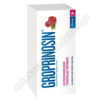 Groprinosin syrop 0,05 g/ml 150 ml
