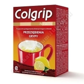 Colgrip hot activ prosz. 8sasz.(kartonik)(COLFARM)