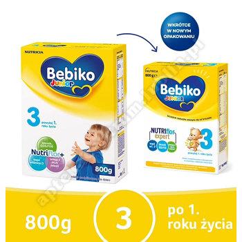 Bebiko 3 Junior NutriFlor+ powyżej 1 roku życia proszek 800g