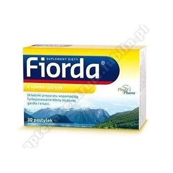 Fiorda o smaku cytrynowym x 30 pastylek