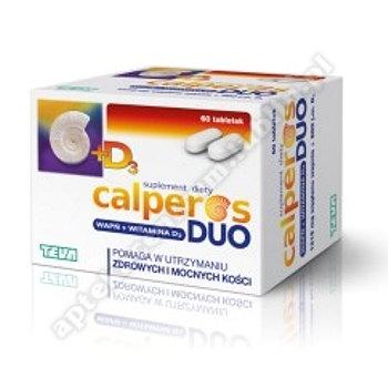 Calperos Duo 0,15 g 60 tabletek