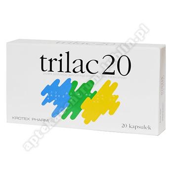 Trilac20 20 kapsułek