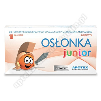 Osłonka Junior saszet. 10 sasz.a 1g