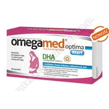 Omegamed Optima Start  0,25g 30 kapsułekd.w.2020.02.28