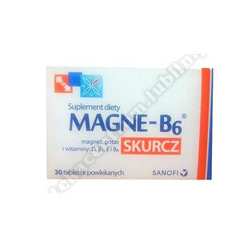Magne B6 Skurcz tabletki  30 tabletek