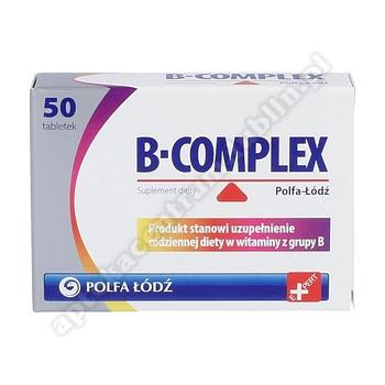 B-complex Polfa-Łódź 50 tabletek