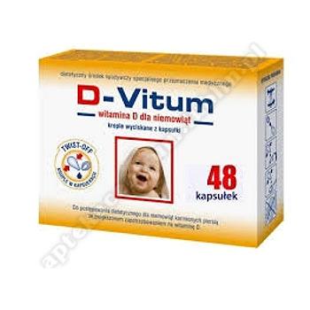 D-Vitum witamina D dla niemowląt 48kaps