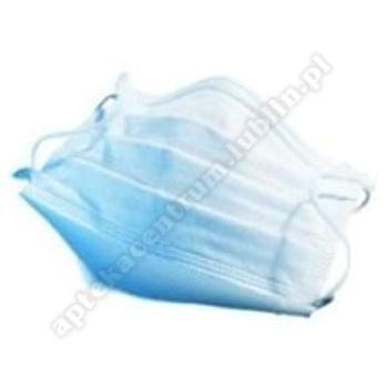 Maska medyczna trójwarstwowa z gumką 1 szt.
