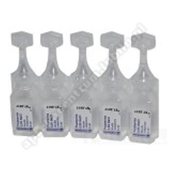 Natrium chloratum 0,9%  NaCl  roztwór soli fizjologicznej (POLPHARMA) 100 poj.a 5ml