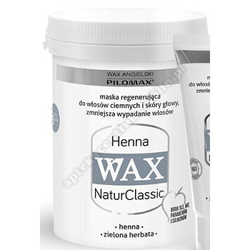 WAX ang Pilomax HENNA Ciemne Daily szampon 200ml