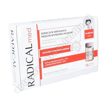 RADICAL MED Kuracja przeciw wypadaniu włosów dla mężczyzn 15amp. a 5ml