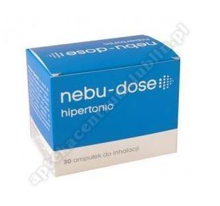 Nebu-Dose Roztwór hipertoniczny do inhalacji 30 ampułek po 5ml