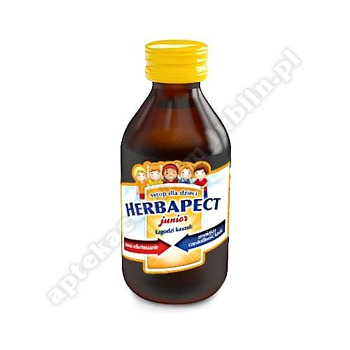 HERBAPECT JUNIOR syrop malinowy 120 g