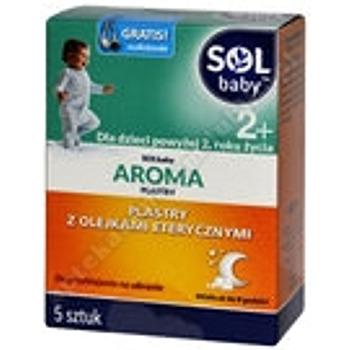 Solbaby AROMA Plastry 5 plast.
