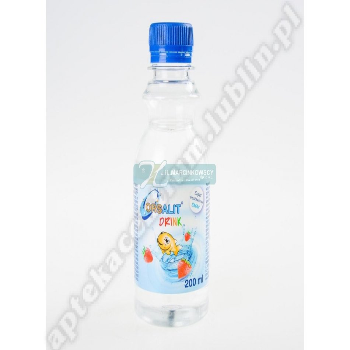 Orsalit drink o smak truskawkowym 4 x 200 ml