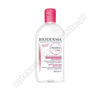 BIODERMA SENSIBIO H20 Płyn micelarny 500ml