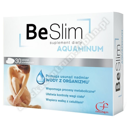 Be Slim Aquaminum tabl. 30 tabl.