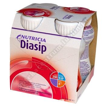 Diasip smak truskawkowy płyn 4szt. po 200ml