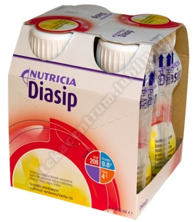 Diasip smak waniliowy płyn 4 szt.a 200ml
