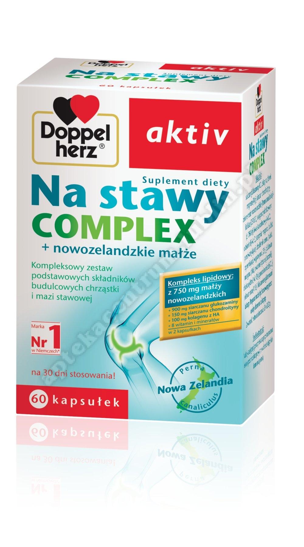 Doppelherz aktiv Na stawy Complex 60 kaps.