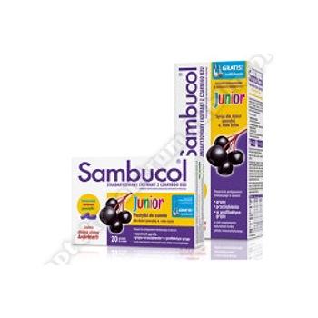 Sambucol Junior pastyl.dossania 20 pastylki