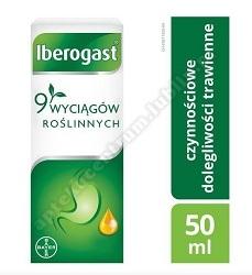 Iberogast płyn doustny 50 ml+Gra Rodzinna Alfa i Omega GRATIS
