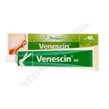 Venescin żel (0,02g+0,118g)/g 40 g