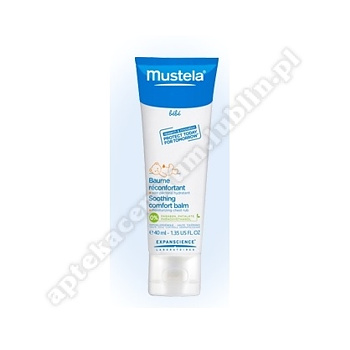 MUSTELA BEBE Balsam do nacierania klatki piersiowej 40ml SUPER CENA d.w. 2020.10.31