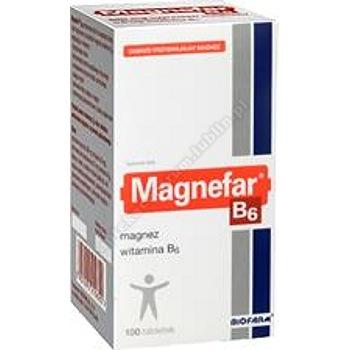 Magnefar B6 100 tabl.