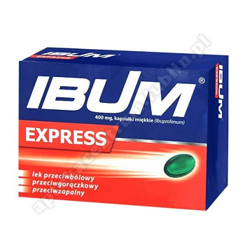 Ibum Express kapsułki miękkie 0,4 g 24 kapsułek