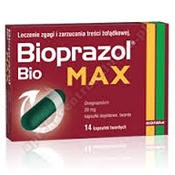 Bioprazol Bio Max kaps.dojel.twarde 0,02g 14 kaps.   SERIALIZACJA