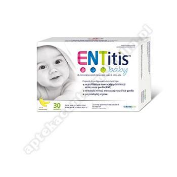 ENTitis Baby Proszek w saszetkach smak bananowy