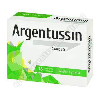 ArgenTussin Gardło smak miętowo-cytrynowy 16 pastylek