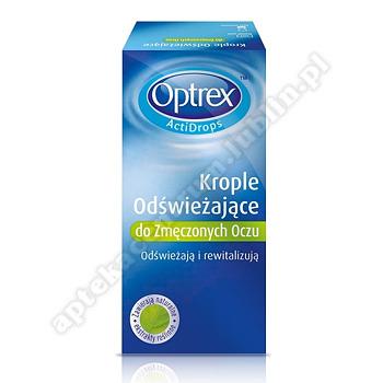 OPTREX ActiDrops Odświeżające Krople do zmęczonych oczu 10ml