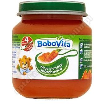 BoboVita Obiadek Pierwsza łyżeczka marchew 125 g