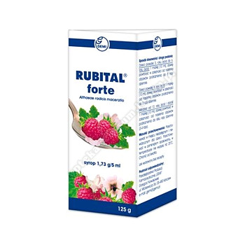 Rubital Forte syrop 1,73 mg/5ml 125 g