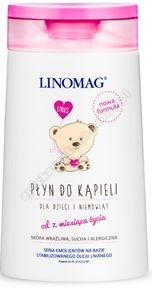 Linomag dla dzieci niemowląt Płyn d/kąp. 2