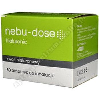 Nebu-Dose hialuronic roztwór izotoniczny do inhalacji 30amp.