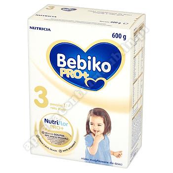 Bebiko Pro+ 3 Mleko Modyfikowane proszek 600g.