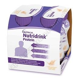 Nutridrink Protein o sm. waniliowym płyn 4 x 125ml
