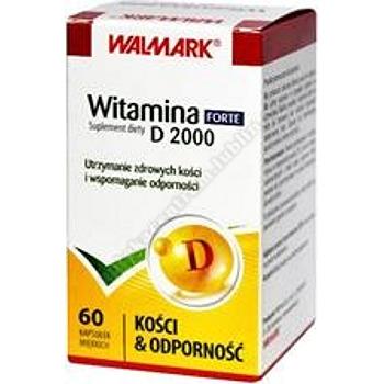 Witamina D 2000 Forte kaps.miękkie 60 kaps. (WALMARK)
