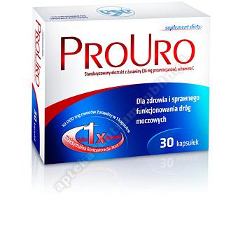 ProUro 0,036 g 30  kapsułek twardych