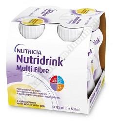 Nutridrink Multi Fibre o waniliowy 4x125ml